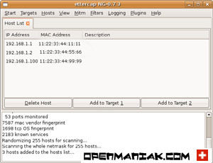 openmaniak ettercap man in the middle attack