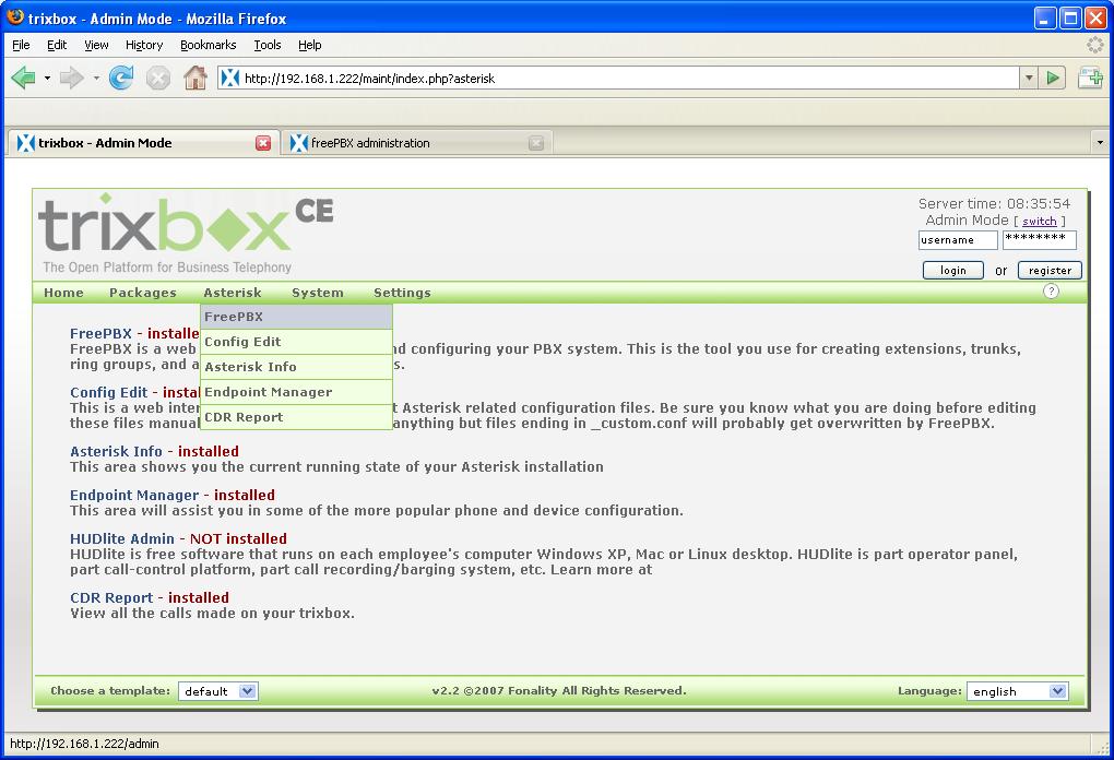 Installing Cdr In Free Pbx Manual - xsonarsignature