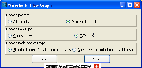 wireshark flow graph