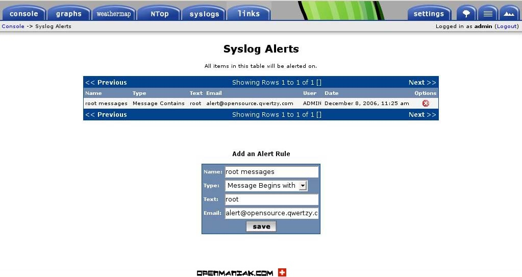 syslog ng download for linux